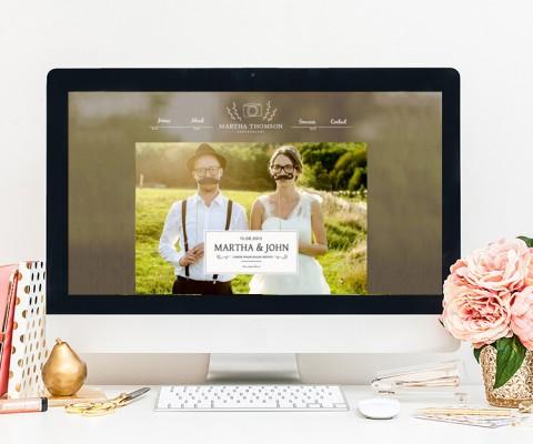 projekt strony internetowej urocza ślub
