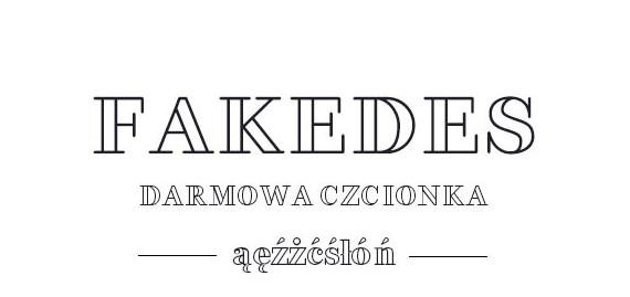 darmowa czcionkiz polskimi znakami