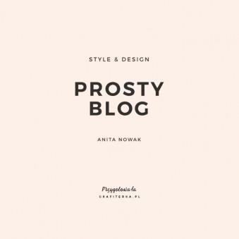 logo w formie napisu na bloga