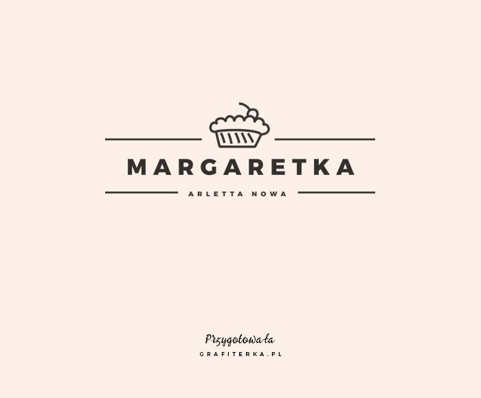 wzór logo na bloga kulinarnego
