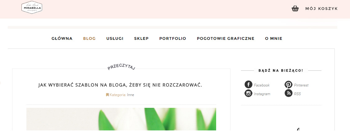 gotowe szablony na bloga