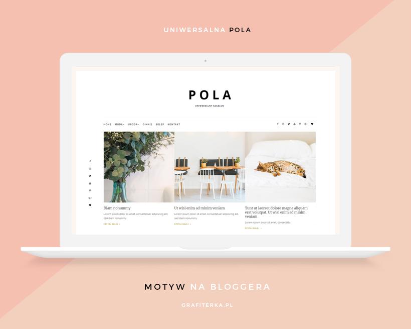 Motyw na Bloggera - Pola